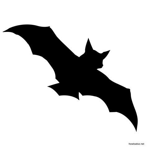 printable halloween shapes halloween bat stencils special events pinterest bat