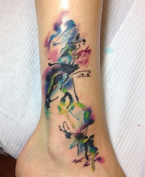 how are watercolor tattoos done watercolor watercolor done by brenna keefe