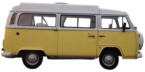 volkswagen van transparent vw cer van yellow vintage cing
