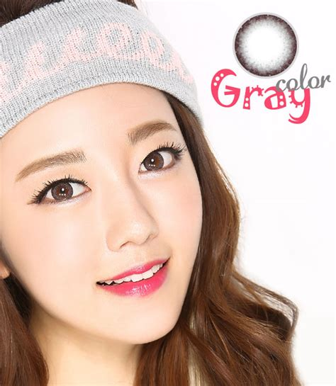colored contacts simulator lens eye sim coong gray 13 2mm circle lens color