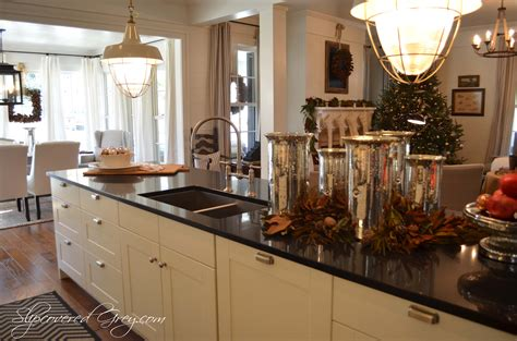 southern living kitchen ideas southern living idea house 2012 christmas slipcovered grey