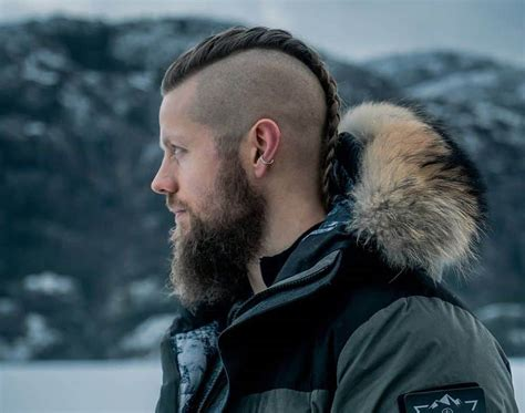 retro chic viking hairstyles  men hairstyle camp