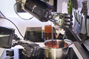 this new robotic chef will cook you the dishes on