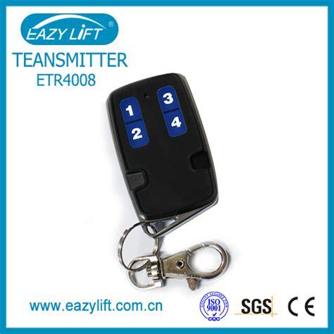 rolling code hcs301 433 92mhz garage door opener rf remote