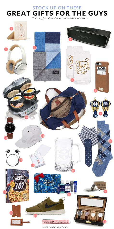 Gifts For The Guys by Gift Guide For The Guys In Your