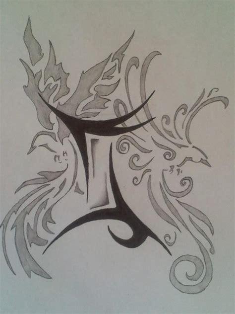 tattoo designs of zodiac signs gemini gemini zodiac sign tattoo design tattooshunt com