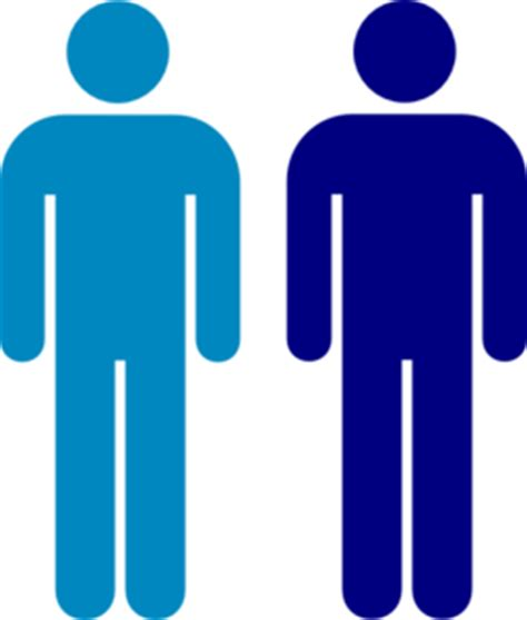 blue persona html blue person symbol clip at clker vector clip