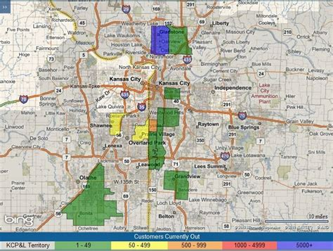 kcpl outage map capt spaulding s world high winds cause power tree