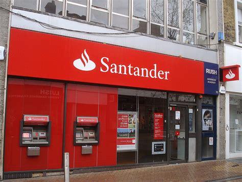 bank santander bank accounts for with bad credit bank