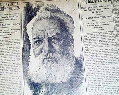 facts about alexander graham bell s death alexander graham bell s death rarenewspapers com