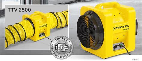 wandlen industriedesign axiaalventilator ttv 2500 weer leverbaar