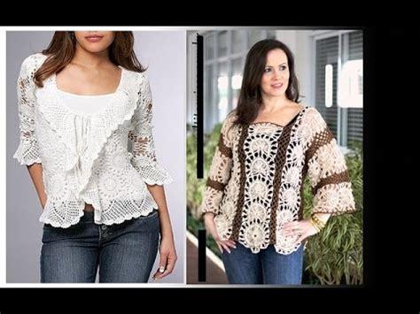 blusas de moda 2016 moda juvenil 2016 youtube blusas de moda en crochet varios estilos youtube