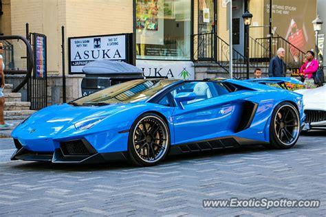 Lamborghini Aventador Price Canada Lamborghini Aventador Spotted In Toronto Ontario Canada