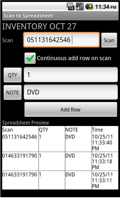 Scan To Spreadsheet by Scan To Spreadsheet Android Apps On Play