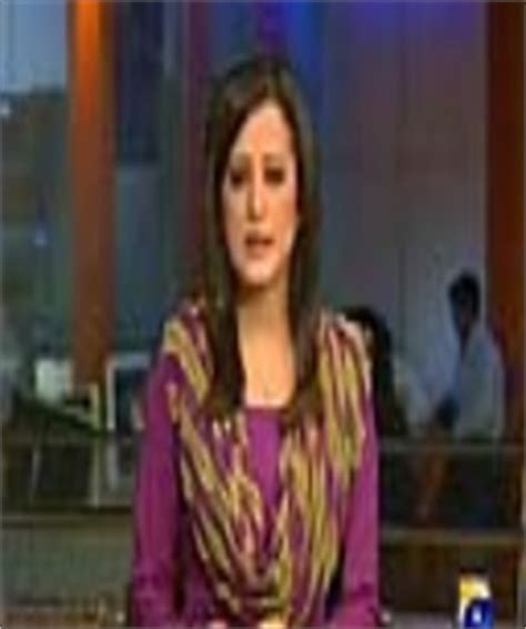 sana mirza anchor geo news tv