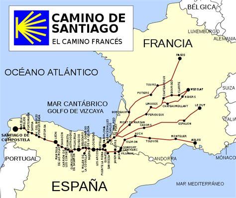 history of camino de santiago file ruta camino de santiago frances svg wikimedia