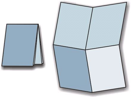Folding Paper Into - the of paper folding coreldraw tips tricks
