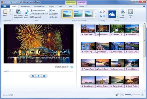 editor imagenes windows 10 view windows movie maker screenshot