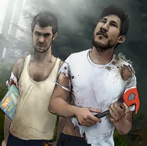 Markiplier and jacksepticeye the forest by shuploc on deviantart