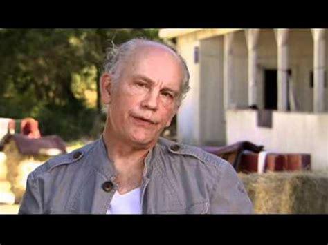 john malkovich youtube interview interview with john malkovich for secretariat youtube