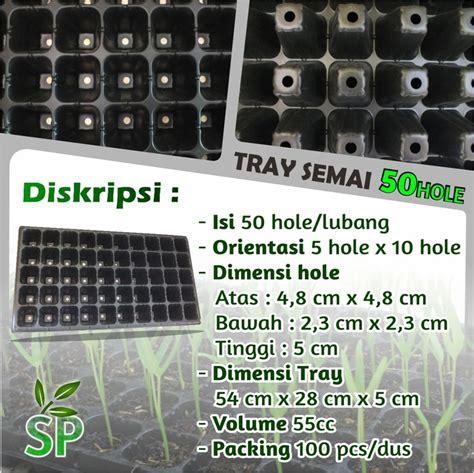 Harga Tray Semai Benih Padi tray semai bibit untuk benih tanaman 50 sumber