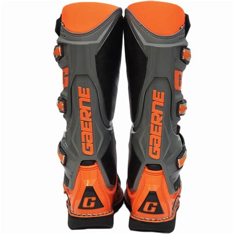 orange motocross boots new gaerne 2018 mx sg 12 limited edition dirt bike fluro