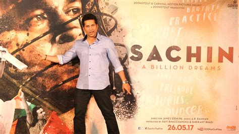 sachin tendulkar biography in hindi youtube sachin a billion dreams movie trailer 2017 launch full