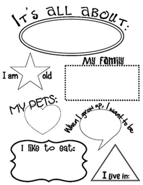 all about me worksheets kindergarten worksheets for all