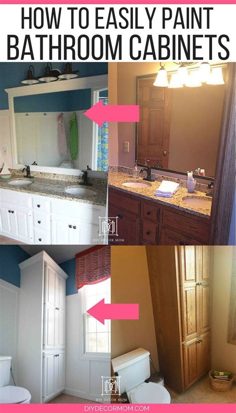 how to paint bathroom cabinets like a pro how to paint bathroom cabinets why you shouldn t sand