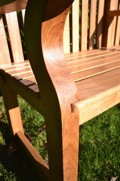 oak memorial benches bespoke english oak memorial bench jla joinery