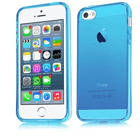 Silikon Bumper Apple Iphone 5 apple iphone 4 5 5s 6 6s tpu silikon schutz h 252 lle bumper tasche ebay