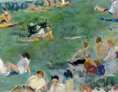Lucien For The Summer by Summer In The Park By Lucien Adrion Post