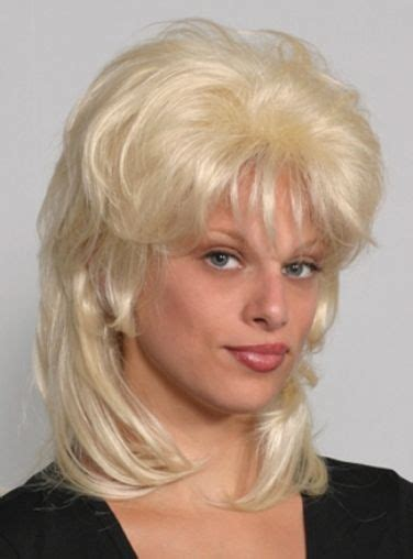 1000 images about shag and mullet hairstyles on pinterest colleen black brown blonde 70 s 80 s shag mullet costume