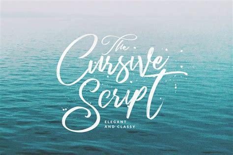 Handmade Script Font - cursive script handmade brush script fonts creative market