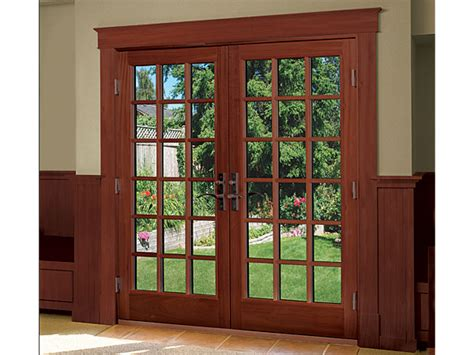 Wooden Patio Doors Wood Patio Doors Home Design Ideas And Inspiration