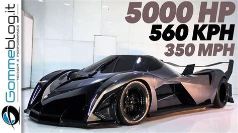 devel sixteen top speed devel sixteen 5007 hp fastest car top speed 350