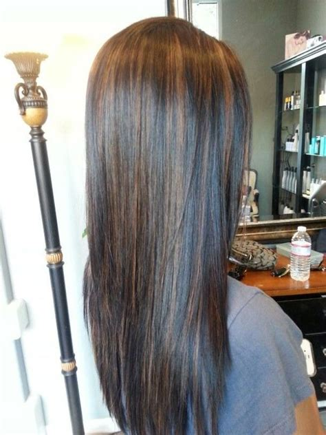 how to hightlight dark brown hair yourself the 25 best ideas about highlights black hair on