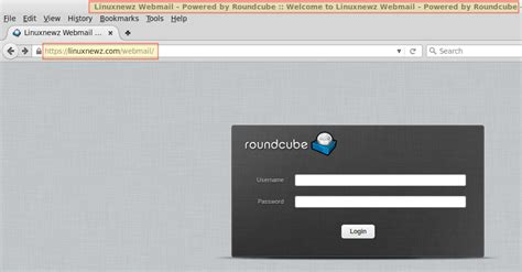 email login how to install and configure roundcube webmail client with