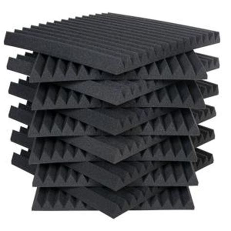 auralex 2 ft w x 2 ft l x 2 in h studio foam wedge
