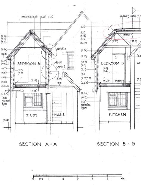 pitched roof section pitched roof and flat roof ridge detail diynot forums