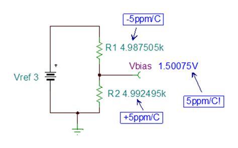 what is resistor drift resistor divider drift when 5ppm 5ppm 5 ppm precision hub archives ti e2e community