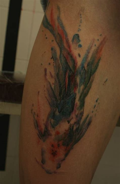 watercolor tattoo fish 17 best images about fish tattoos on colorful