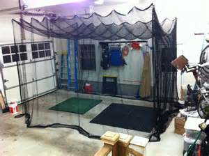 best backyard golf net home made golf facility in your garage