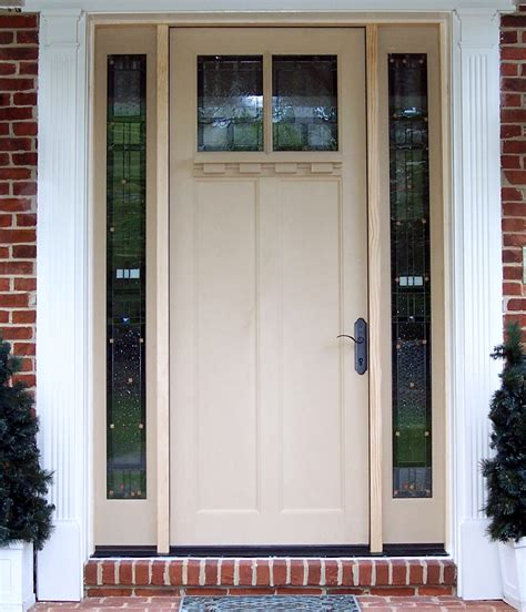 What Are Exterior Doors Made Of Just Doors Northern Va Entry Patio Door Installation