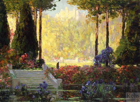 The Gaden The Garden Of The Castle Rehs Galleries Inc