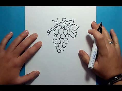 imagenes de uvas en foami como dibujar un racimo de uvas paso a paso 2 how to draw