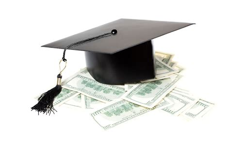 heeg well paid education graduate cap on a pile of money