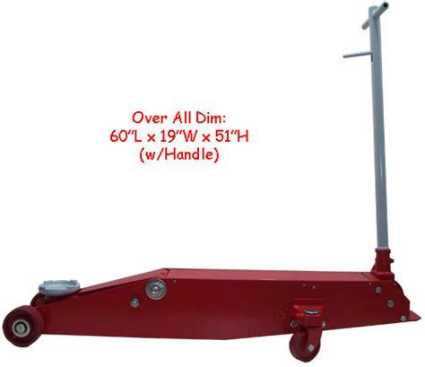 ton hydraulic floor long frame jack  shipping ebay