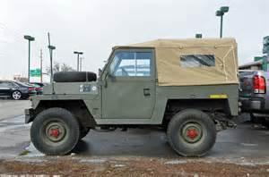 land rover series iii lightweight 3 ran when parked