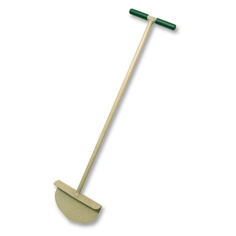 Garden Edger Tool by Rounded Lawn Edger Steel T Style Handle 92251